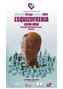 Cartel Jornada Esquizofrenia 2014 (C.H. San Luis de Palencia)